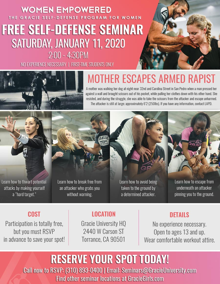 Free Women's Self-Defense Seminar